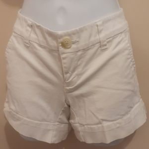 $5 Add-on American Eagle White Shorts. Size 0